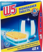 W5 (LIDL) All-in-1 tablettes lave-vaisselle