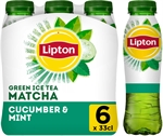 LIPTON  Ice tea green matcha cucumber & mint