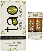 TAO Pure infusion black tea lemon orange blossom
