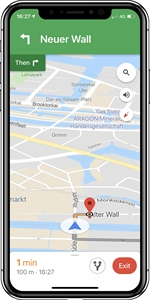 GOOGLE Maps - (iOS)