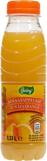 JUICY (ALDI) Jus d'orange à base de concentré