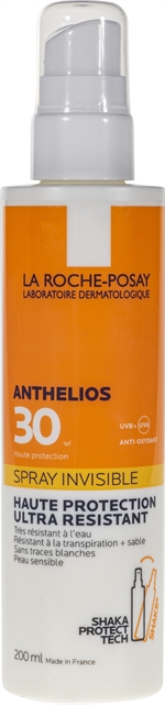 LA ROCHE-POSAY ANTHELIOS SPRAY INVISIBLE SPF 30 | Crèmes solaires