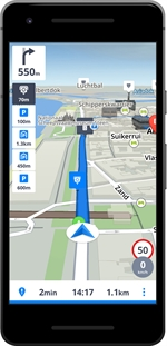 SYGIC GPS NAVIGATION & MAPS (ANDROID) | Comparatif GPS 2020 - Test Achats