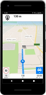 TELENAV GPS NAVIGATION & MAPS – SCOUT (ANDROID) | Comparatif GPS  - Test Achats