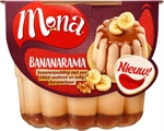 MONA Bananenpudding met walnoot en karamel 450ml