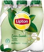 LIPTON Ice tea less sweet natural