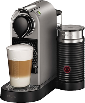 krups nespresso citiz milk xn760b silver au meilleur prix. Black Bedroom Furniture Sets. Home Design Ideas